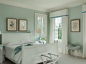 21张亮色系卧室床图片 清新时尚