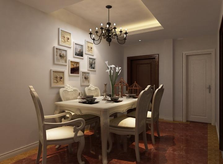 欧式风格时尚餐桌效果图图片