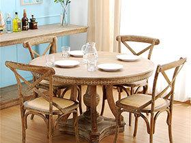 回归经典 19张实木餐桌设计效果图