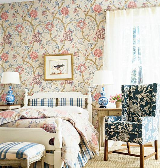 浪漫卧室壁纸壁纸效果图