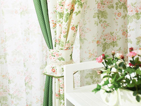 清新韩式田园风 23款韩式窗帘图片