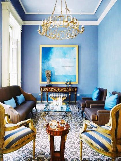 地中海风格客厅客厅灯图片