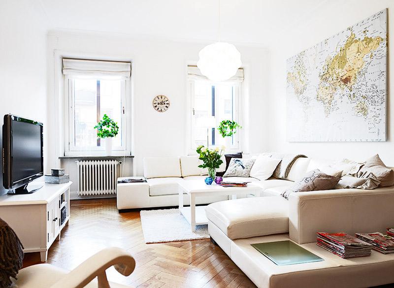 北欧风格客厅客厅灯效果图