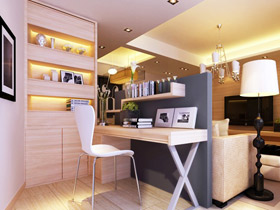 18款客厅隔断图 多空间巧设计