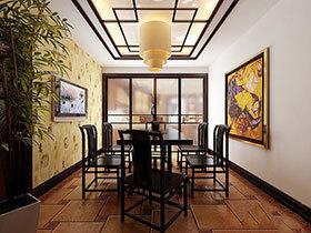 17张中式餐厅装修效果图 教你挑选餐桌椅