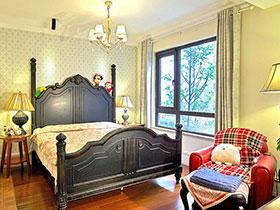 復古美式風 18張板床設計效果圖