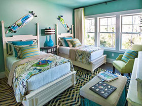 时尚可爱范儿 18张美式儿童床图片