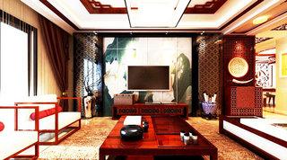 18图中式电视背景墙 有格调的墙面设计12/18