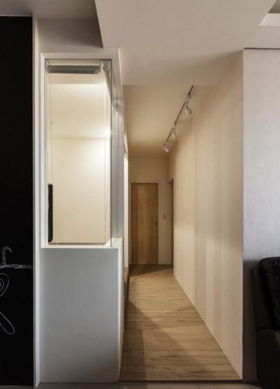简约风格简洁走廊效果图