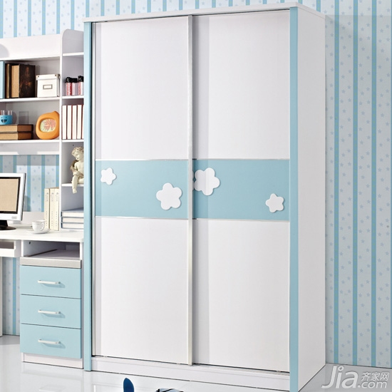 儿童衣柜效果图 5款粉嫩儿童衣柜推荐图片