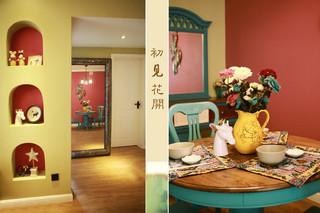 美式风格梦幻10-15万90平米装修图片
