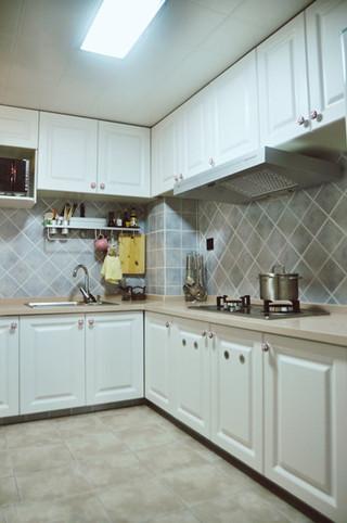 美式风格梦幻10-15万90平米厨房效果图