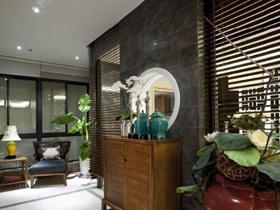 大氣端莊 18款中式實木玄關柜設計