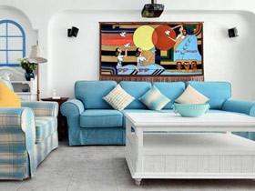 便宜实用设计 18图客厅装饰画秀灵感