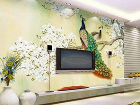 18款个性装饰画 装扮最美电视背景墙
