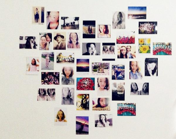 照片墙心形图片大全 效果图