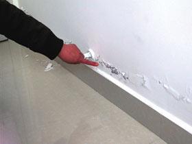 装修半年墙皮脱落 装修公司无处可寻