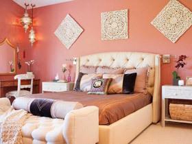 15款美式床头软包设计 让墙面更美