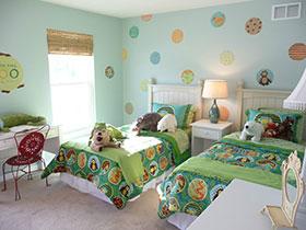 清新田園風 15張彩色臥室床圖片
