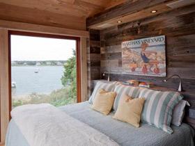 温馨自然氛围 15款实木卧室背景墙设计