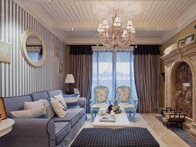华美地中海风情三居室装修 随处即景