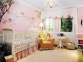 粉色美好祝愿 15款粉色手绘墙设计