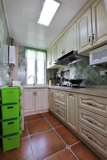 温馨70平米厨房旧房改造家居图片