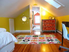 阁楼更舒适 22款阁楼卧室背景墙设计