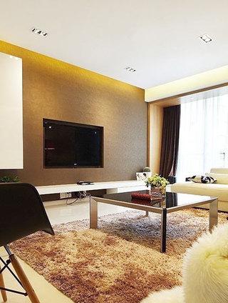 简约风格简洁电视背景墙设计图