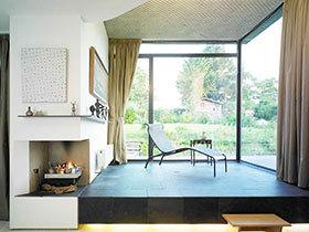 阳台也要遮阳 17款阳台窗帘效果图
