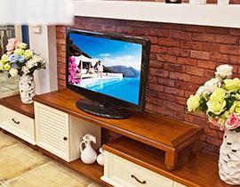 電視柜也有風格 16款地中海電視柜圖片