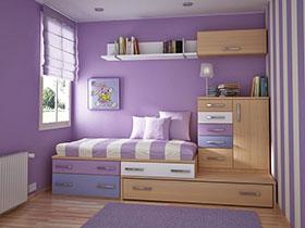 21張簡約兒童床圖片 可愛范兒十足