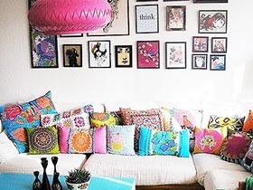 照片装饰客厅 14款客厅照片墙图片