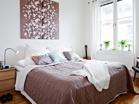 装饰画点缀 19个卧室背景墙效果图