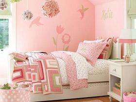 粉色公主房 16款浪漫儿童床效果图
