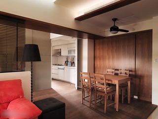宜家轻工业混搭风公寓装修 这套小户型设计完美2/4