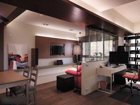 宜家轻工业混搭风公寓装修 这套小户型设计完美