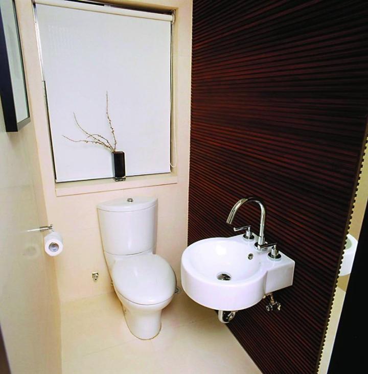 简约风格白色洗手台图片