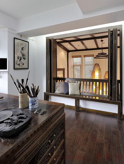 中式风格别墅稳重效果图