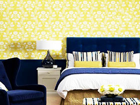 不一样的墙面装饰 14款地中海风格壁纸