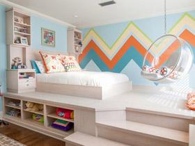 活泼有创造力 16款个性儿童床效果图
