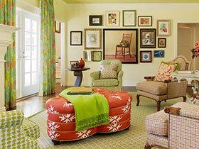 打造活力家居 24张清新沙发背景墙图片