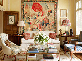 客廳裝飾畫效果圖 22張歐式沙發背景墻設計