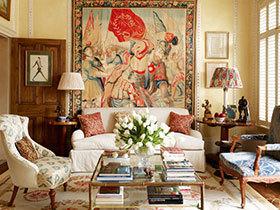 客厅装饰画效果图 22张欧式沙发背景墙设计