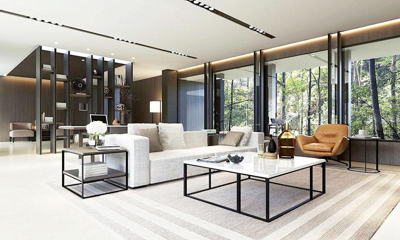 简约风格实用客厅客厅隔断装修效果图
