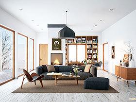 客厅隔断设计 16图巧设计大用途
