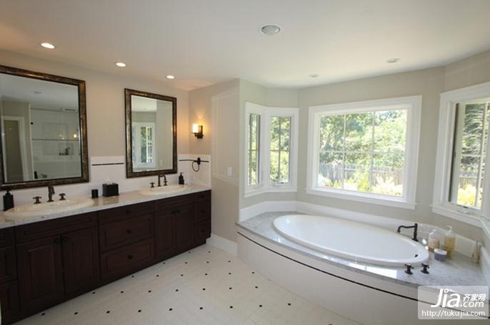 洗手间装修装修效果图