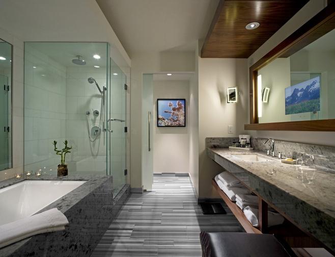 欧式风格豪华洗手台图片