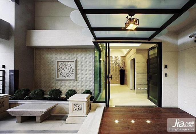 中式风豪宅装修效果图