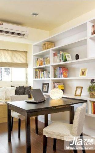 书房家居最安静的地方装修效果图